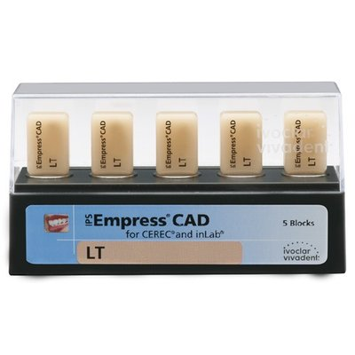 Блоки IPS Empress CAD CEREC/inLab LT D3 C14 5 шт.
